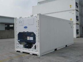 Køle- og frysecontainer