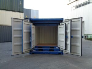 8 fods container